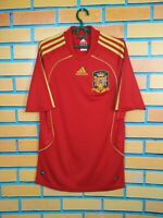 Spain Jersey 2008 2009 Home SMALL Shirt Football Soccer Adidas