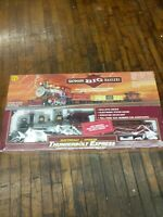 New Bachmann Big Haulers Thunderbolt Express Christmas Tree Train Set