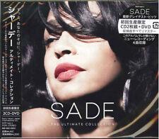 SADE-THE ULTIMATE COLLECTION-JAPAN 2 CD+DVD Ltd/Ed K03