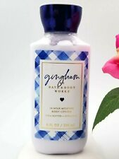 Bath and Body works  GINGHAM Body LOTION cream Shea  8 oz *NEW