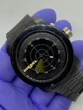Diesel DZ-1605 Mens Wrist Watch Sweeping Sonar Rare Analong Digital