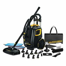 NEW! McCulloch MC1385 Deluxe Canister Steam System Cleaner - Free Shipping