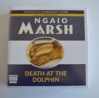Death at the Dolphin: by Ngaio Marsh - Unabridged Audiobook - 8CDs