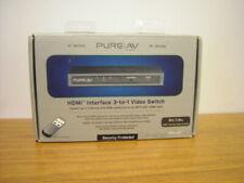 Pure AV HDMI Interface 3 TO 1 Video Switch Belkin