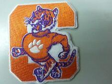 "CLEMSON U - Clemson Tigers RARE Vintage Embroidered Iron On Patch (NCAA) 3"" x 3"""
