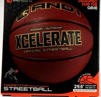 "AND1 Indoor/Outdoor Xcelerate Official Street Ball Easy To Palm Grip 29.5""  Size"