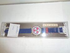 SWATCH CHRONO-SEA PORT 1995-SCK402-OROLOGIO-COME NUOVO-MAI INDOSSATO-F37