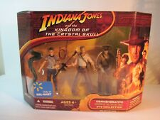 3 3/4'' INDIANA JONES, MUTT WILLIAMS AND COL. DOVCHENKO 3 PK.  2008 HASBRO