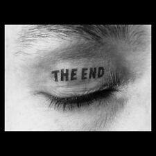 THE END Wackelbildkarte,lenticular-print, Timm Ulrichs signiert u. nummeriert