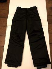 White Sierra, Kid's, Ski Pants, Black, Size Medium