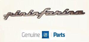 Cadillac ALLANTE Pininfarina Emblem   NOS GM