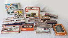 Lotto Diorama Binari Pista Trenini Vagoni d'epoca LIMA Toy scala HO 13pz+Box-1P9