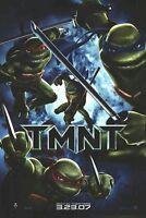 TEENAGE MUTANT NINJA TURTLES 2007 MOVIE POSTER ~ ADVANCE ORIGINAL 27x40 Teaser