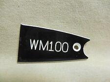 Washburn WM-100 Guitar Truss Rod Cover