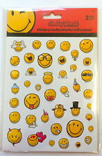 2 Sheets Happy Smile Face Stickers Party Favors Teacher Supply Smiley World