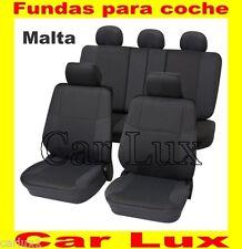 FUNDAS para COCHES  con y sin AIRBAGS laterales FUNDAS ASIENTOS FIAT  - MALTA