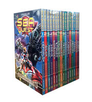 Sea Quest Series By Adam Blade 16 Books Set Collection - Mangler, Gubbix, Tragg