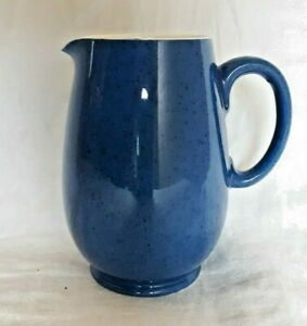 """Moorcroft Powder Blue Speckled Small Pitcher--5"""" Tall"""