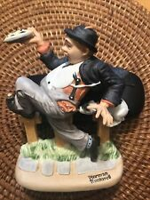 Caught In The Act 1980 The 12 Norman Rockwell Porcelain Figurines Danbury Mint