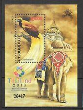 Indonesia 2013 Mi.No.Block 303 Indonesien Birds Animals Thailand ssh MNH**