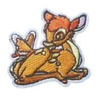 Bambi Inspired Character -  Iron On Patch Sew on Embroidered New - Bambi Deer