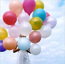 "100 Latex BALOONS 10"" BALLONS helium Metallic BALLOONS Party Birthday marriage a"