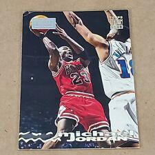 93/94 Michael Jordan Stadium Club #169 1st Day Issue. RARE. Card has dmg corner