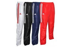 Adidas Tracksuit Bottoms Martial Arts Jogging Pants Sports Trousers Mens Kids