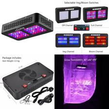 KINGBO 300W LED Grow Light Full Spectrum Veg Flower Hydroponic Plant Dual Optic