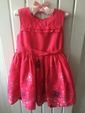 Little Girl's Clothes 2-3 Yrs- Beautiful Fuschia Pink Party Dress John Rocha