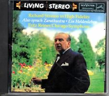 RCA LIVING STEREO RICHARD STRAUSS - ALSO SPRACH ZARATHUSTRA; EIN HELDENLEBEN CD