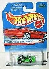 Hot Wheels 1998 First Editions Go Kart # 651  green