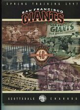 Giants Spring Training   1958-1997  MBX40