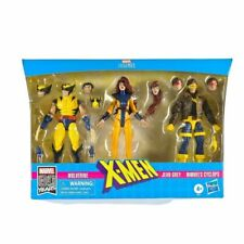 Hasbro E8607 X-Men Jean Grey, Cyclops, and Wolverine Legend Series 6 inch Collectible Action Figures