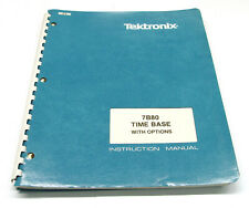 Tektronix 7B80 Time Base, Instruction Manual, Bedienung & Service, 7000er