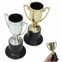 Mini Trophy Football Game Match Champion Cup Award 10cm Kids Party Gift Toy new