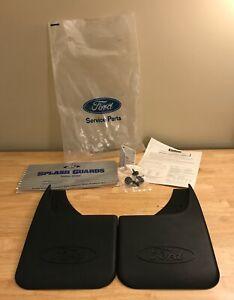 OEM Ford Explorer LTD Rear Mud Flaps-  New, Open Package-  F5TZ-16A550-B