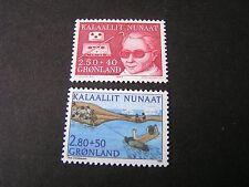Greenland, Scott # B11+B12(2),2- Complete Single Sets 1983-86 Semi-Postal Mnh