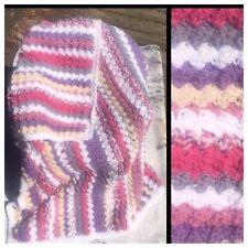 FREE SHIP NWOT Crochet Lap Afghan