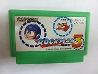 Famicom Rockman 3 Nintendo Japan import Video Game Soft Capcom NES FC Used F/S