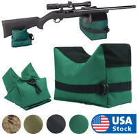 Laspur Tactical Shooting Gun Rest Bench Front Rear Sand Bag Combo Set-Unfilled
