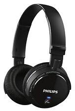 PHILIPS SHB5500BK WIRELESS BLUETOOTH HEADPHONE+32mm DRIVERS+POWERFUL BASS