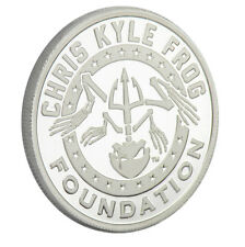 1 oz Chris Kyle Frog Foundation Silver Commemorative - Limited Edition