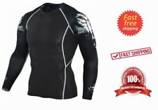 NEW IBJJF Approved Brazilian Jiu Jitsu Rash Guard Fitness Running MMA Boxing UFC
