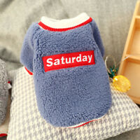 Fleece Winter Dog Coat Small Dogs Pajamas Sweater Chihuahua Clothes Pet Clothing