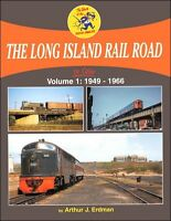 The LONG ISLAND RAIL ROAD in Color, Vol. 1, 1949-1966, steam to diesel -- (NEW)
