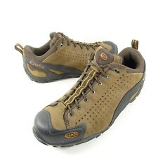 Oboz Teewinot Mens Hiking Trail Shoes Size 10 Brown Black Low Lace Up