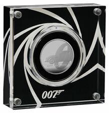 2020 Great Britain James Bond 1/2 oz Silver Proof £1 Coin GEM Proof SKU61031
