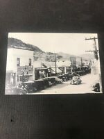 postcard Vintage Oliver B.C.  Great Automobile Scene Pioneer Card Repro  I01