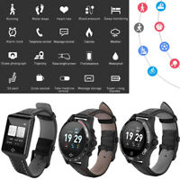 Smart Bluetooth Watch Blood Pressure Heart Rate Monitor For iOS Android Samsung